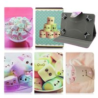 Atacado- PU Leather funda tablet 7 universal Protector skin Stand Cover para Asus Memo Pad HD 7 Me173X 7 polegadas tablet case for kids M4A92D