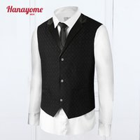 Wholesale Waistcoat Three Button Suit - Wholesale- 2016 New Arrival Men Suit Dress Vests Men's Fitted Leisure Waistcoat Casual Business Jacket Tops Three Buttons FreeShipping VS
