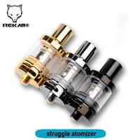 Wholesale Double Tank Atomizer - Struggle atomizer e cig tank fit for 2ml double 0.5ohm ijust 2 coil VS Melo 3 mini Tank Nautilus X atomizer