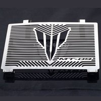 Wholesale radiator guards for sale - For YAMAHA FJ MT Tracer Motorcycle Accessories Radiator Grille Guard Cover Protector Fuel Tank Protection Net