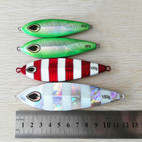 5Pcs Metal Jigging Glow Slow Jig Deep Sea Night Pesca Jigging Lure Jigbait Spoon Baits 60G 80G 100G 150G