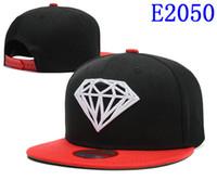 Wholesale Girl Diamond Snapback Hats - Wholesale-2017 women Diamond washed denim baseball cap girls diamond hat fashion baseball caps female snapback hats drop ,free shipping