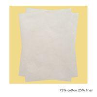 Wholesale Laser Jet Printers - 200 Sheets per lot 75 cotton linen Copy Paper For Laser Ink Jet Printer Size A4 Paper 216 X 279mm