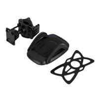porta-telemóveis para bicicletas venda por atacado-Atacado-car Mini 360 Ajustável Car / Motocicleta / Titular da bicicleta Adaptador Camera Motorcycle Handlebar Mount Para Celular GPS Novo