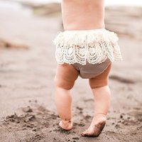 Wholesale Toddler Crochet Shorts - 2017 Infant Baby Girls Crochet Lace Short pants Toddler Princess Tassel Pants Babies Summer Shorts childrens clothing
