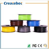Wholesale Abs 1kg - Createbot 3D Printer Filament 1.75 mm ABS Materials for 3D Printer 1kg Environmental Consumable Material