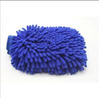 ingrosso guanti di polvere-Guanti di lavaggio per auto di moda Ci vorrà un asciugamano per la pulizia della casa Panno per la pulizia dello strumento Miscela di prodotti per la pulizia del colore