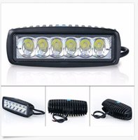 Оптовый 18W 6-дюймовый SPOT FLOOD Cree Led Bar Work Light Boat Car Truck Lamp SUV UTE ATV offroad