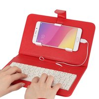 Boîtier google nexus inch Prix-KKmoon 4.2-6.8 pouces Android Micro 5-pin Wired QWERTY clavier Stand Phone pour Huawei Xiaomi HTC Samsung et plus OTG Fonction PA3619R