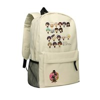 Wholesale Online Games Girls - Touken Ranbu Backpacks Oxford Bag Computer Game Touken Ranbu Online Backpack ONLINE Knapsack Children School Bag Boys and Girls Shoulder Bag