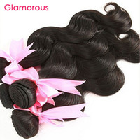 Wholesale Cheap Indian Hair For Sale - Glamorous Cheap Brazilian Hair Weave Bundles For Sale Indian Peruvian Malaysian Hair 10Bundles Original Human Hair Weaves For Black Women