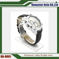 Wholesale Spy Watch Infrared - Full HD 1080P 8GB Waterproof Watch Infrared night vision Video Camera Spy cameras with factory price