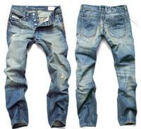 Wholesale Coat Large Man Long - Hot Sale ! 2018 Mens Jeans Men Famous Brand Fashion Denim Jeans,cotton Jeans Men,Large Size Desinger Jeans Men