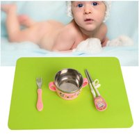 Wholesale Silicone Bakeware Heat - Silicone Mats Baking Liner Best Silicone Oven Mat Heat Insulation Pad Bakeware Kid Table Mat 40x35cm
