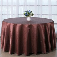 Wholesale Satin Fabric Tablecloth Wholesale - Table cloth Table Cover round for Banquet Wedding Party Decoration Tables Satin Fabric Table Clothing Wedding Tablecloth Home Textile