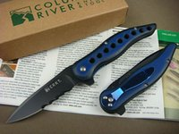 Wholesale Half Serrated - OEM CRKT 1163 CRKT1163 McGinnis Premonition Half Serrated Blade Folder EDC Folding Pocket Flipper knife Tactical Knives original Box