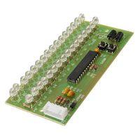 Wholesale Diy Amplifier Channel - 2016 MCU Adjustable Display Pattern LED VU Meter Level Indicator 16 LED Dual Channel DIY Components