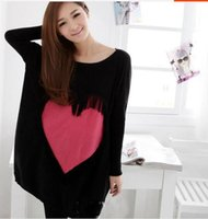 Wholesale Sweaters For Pregnant Women - Maternity clothing autumn and winter maternity sweater love maternity sweater fashion sweaters for pregnant women