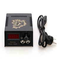Wholesale High Quality Tattoo Power Supply - Wholesale- High Quality Tattoo Machine Gun Fitting LCD Display Tattoo Power Supply for Tattoo Footswitch TPS003