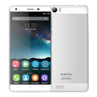Wholesale Cell Mobile Tv Digital - OUKITEL K6000 4G Mobile Phones 5.5'' Android 5.1 Big Battery 2GB RAM 16GB ROM Quad Core 6000mAh Dual SIM Cell Phone