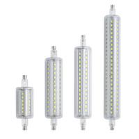 led r7s 135mm venda por atacado-Regulável R7S led 10 W 118mm 360 graus 5 W 78mm lampadas led r7s lâmpada de milho 12 W 135mm 15 W 189mm 25mm de diâmetro substituir holof ...