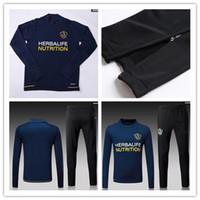 Wholesale Galaxy Suit - best quality 17 18 Los Angeles Galaxy jersey top thai quality GERRARD KEANE BECKHAM Training suit suit Jerseys 2017 LA Galaxy Football s