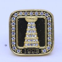 Wholesale Montreal Tin - 1993 Montreal Canadiens Stanley Cup championship rings replica ROY free shipping