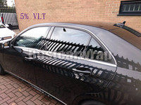 Wholesale window tint stickers for sale - Group buy 2 Roll cmx30m Black VLT Window Tint Film Solar Film windshield films Car Glass Protection Size