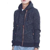 hoodie com zíper outerwear hoodies sweatshirts venda por atacado-Hoodies dos homens do outono de Roupas de Marca Harajuku Hip Hop Moletons para Masculino Outerwear Zíper Com Zíper Com Capuz