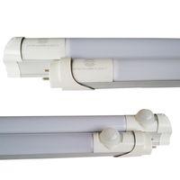 kızılötesi pir sensör led ışıklar lamba toptan satış-2ft 3ft 4ft 5ft Kızılötesi Hareket Sensörü PIR LED tüp T8 hareket sensörü LED T8 LED tüp ışıkları 18 W Hareket Dedektörü Indüksiyon lamba