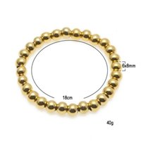 Wholesale Designs Gold Jewellery Sets - New design Couples Stainless steel Bracelet Fashion Jewelry beads Bracelet Jewellery