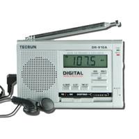 Wholesale Tecsun Clock Radio - Wholesale-Tecsun dr-910a full clock teh son stereo radio