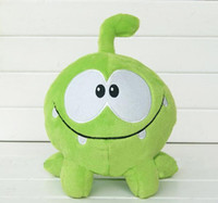 "Wholesale Om Nom Plush Toy - New Cut the rope my om nom cartoon plush doll stuffed toy ( 5pcs Lot   size : 8"" 20cm )"