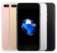 Wholesale Iphone Quad - 100% Original Apple iphone 7 7 Plus With Touch ID 32GB 128GB IOS10 Quad Core 12.0MP Refurbished Unlocked Phone