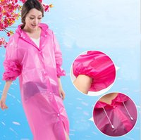 Long Use Rain Coat Mulheres EVA Transparente Raincoat Poncho Portátil Waterproof Light Raincoat Hot Sale c217