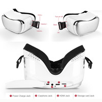 Wholesale Eyewear 3d Video Glasses - Omimo Immersive Virtual Reality VR 3D Video Glasses Android Octa-Core Cortex-A7 CPU HDMI WiFi Bluetooth Display Imax Eyewear F17010498