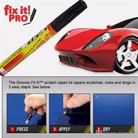 paint scratch pen - Fix It Pro Car Coat Scratch Cover Remove Painting Pen Car Scratch Repair For Simoniz Clear Pens Packing Cars Styling Cars Care XL A60