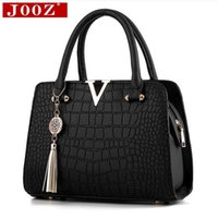 Wholesale Designer Cell Phone Pouch - Wholesale- Fashion Alligator leather women handbags famous designer brand bags Luxury women's pouch high quality shoulder bags tote bag
