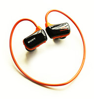 Wholesale Headphone Real - Wholesale- New Sport MP3 Player Headphone W273S Real 8GB wireless Running Earphone MP3 Music Player IPX5 micro USB no swimming
