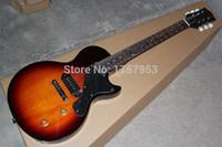 Wholesale Junior Mahogany - Free Shipping Factory custom shop 2015 New JUNIOR   1958   Sunburst   Guitar For Sale 1 14
