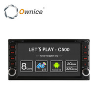 Wholesale Android Toyota Corolla - Ownice C500 Android 6.0 Octa Core 2GB RAM 32GB ROM for Toyota Universal 2 Din Camry Corolla Viso Car DVD Radio Player with 4G SIM slot