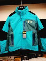 Wholesale Camping Hiking Travel Raincoat - UA Winter Jacket Under Men and Women Armour Waterproof Winterbrake Sportswear Jacket Raincoat Outdoor Travels Hiking Camping Jacket Clothes