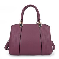 Borse in pelle Donna Boston Borsa a tracolla Design Lusso Business Ladies Tote borsa piccola Borse nuove donne Hot