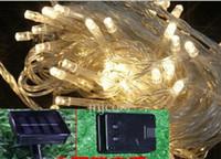 ingrosso lanterne solari esterne luci di stringa-LED piccole lanterne luci solari stringa lampeggiante giardino luci decorative paesaggio esterno impermeabile luci stringa di fiori