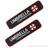4,1 Zoll Tactical <b>Umbrella Corporation 3D</b> Gummi PVC Moral Patch mit Zauberstab Tactical Patch Armee Kampfabzeichen VP-16