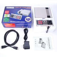 HD HDMI Out Retro Game Player Family TV Video Handheld Console Entertainment System Giochi classici 600 integrati per NES Mini PALNTSC