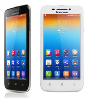 """Wholesale Lenovo Qwerty Android - 4.7""""original Lenovo S650 cell phones MTK6582 quad core smart phone android 4.2 mobile phone 8MP camera 3G WCDMA"""