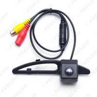Wholesale Car License Plate Rearview Camera - FEELDO Car Rearview Reverse Camera for Hyundai Sonata NFC in License Plate Lamp Parking Camera #5075