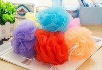 Wholesale Plastic Scrubbers - Bath Pouf Shower Sponge Exfoliating Cleanse Soothe Skin Loofah Luffa Body puff Mesh Body Scrubber Bath Pouf