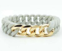 Wholesale Silicone Twist Bracelet - Silicone Jelly twist Wristbands Men Women Punk Bracelets Hand Catenary Fashion Unisex Cuff Bangle Charm jewelry colorful Christmas gift